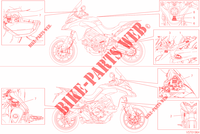 LABEL for Ducati Multistrada 950 S Touring 2019