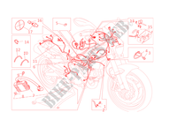 WIRING HARNESS for Ducati Monster 696 2013