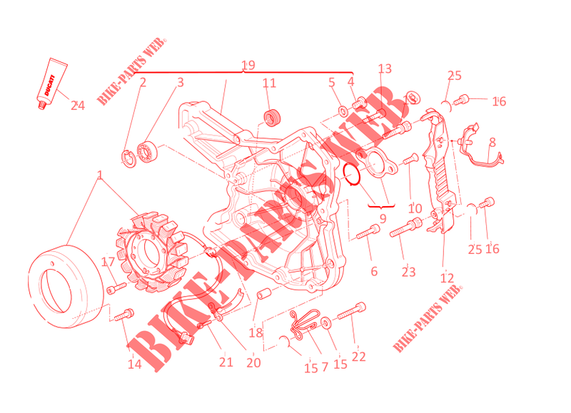 ducati monster 796 wiring diagram alternator for ducati monster 796 2013 ducati online genuine  alternator for ducati monster 796 2013