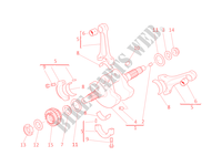CONNECTING RODS for Ducati Multistrada 1200 Touring ABS 2011