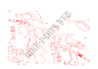 HANDLEBAR & CONTROLS for Ducati Multistrada 1200 Touring ABS 2011