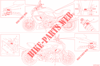 LABEL for Ducati Diavel 1200 FL 2018