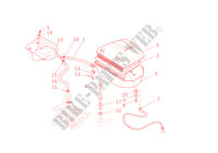 AIR INDUCTION & OIL BREATHER for Ducati Monster S4R 2006
