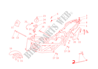 FRAME for Ducati Monster S4R 2006