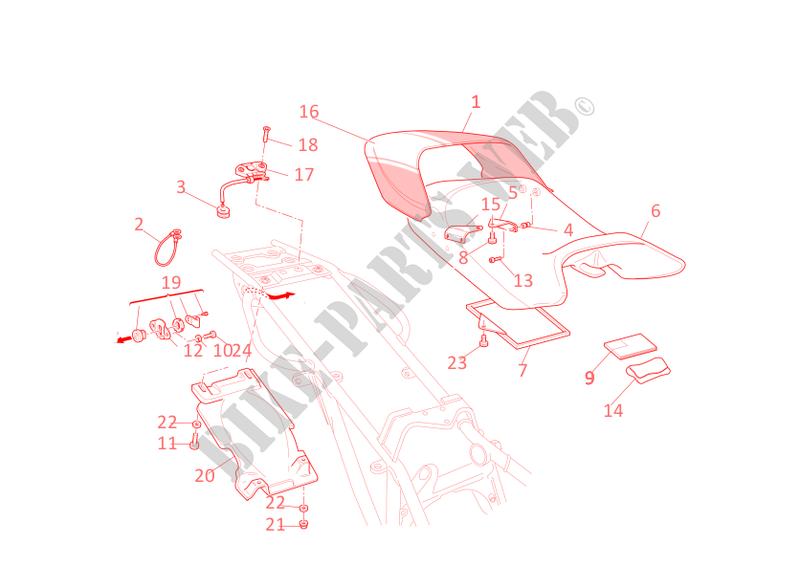 ducati motorcycle monster 2006 monster s4r monster s4r monster s4r seat