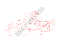EXHAUST SYSTEM for Ducati Monster 400 2005