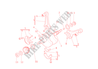 CRANKSHAFT for Ducati Monster 1000 2005