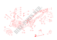FRAME for Ducati Monster 1000 2005