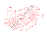 HALF CRANKCASES for Ducati Monster 1000 2005