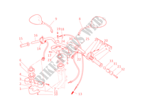 HANDLEBAR & CONTROLS for Ducati Monster 1000 2005