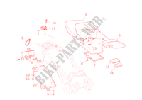SEAT for Ducati Monster 1000 2005