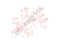 CRANKSHAFT for Ducati Monster S4R 2005
