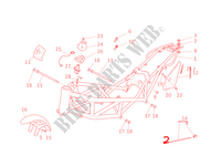 FRAME for Ducati Monster S4R 2005