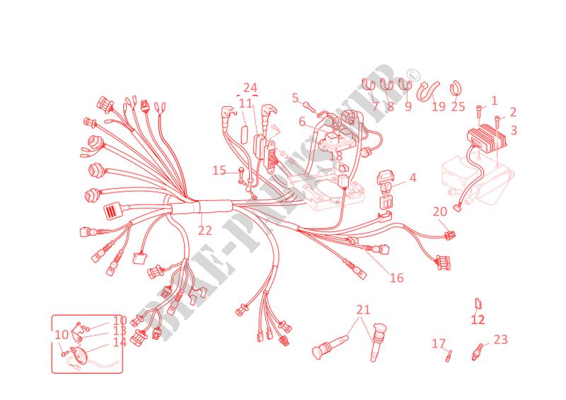 ducati motorcycle monster 2004 monster s4r monster s4r monster s4r wiring  harness