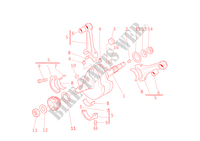 CRANKSHAFT for Ducati Monster S4R 2003
