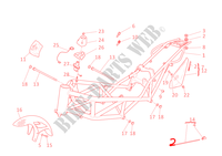 FRAME for Ducati Monster S4R 2003