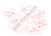 GEAR CHANGE MECHANISM for Ducati Monster S4R 2003