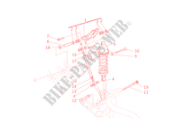 REAR SUSPENSION for Ducati Monster S4R 2003