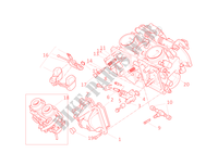 CARBURETOR for Ducati Monster 400 2002
