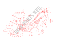 FRAME for Ducati Monster 400 2002