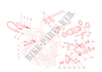 GEAR CHANGE MECHANISM for Ducati Monster 400 2002