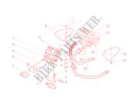 INLET MANIFOLDS for Ducati Monster 400 2002