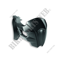 CARBON REAR SPLASH GUARD - MS-Ducati
