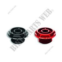 OIL FILLER CAP DUCBYRIZOMA RED 1409-Ducati