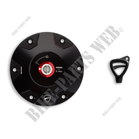 BLACK RACING RESERVOIR PLUG HYM/MTS RIZO-Ducati