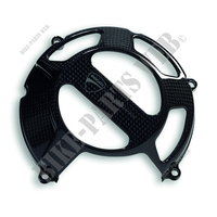 Streetfighter style open carbon clutch c-Ducati