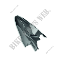 CARBON REAR MUDGUARD - MS-Ducati