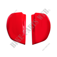 MS1200 TOP CASE COVER SET - RED-Ducati