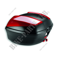 Rear top case kit - MS-Ducati